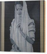 Beauty Of Rajasthan Wood Print