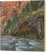 Beauty Of The Narrows Wood Print