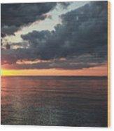 Beauty Of The Sunrise Wood Print