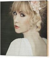 Beauty Portrait Wood Print