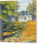 Beaverbrook House Wood Print