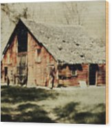 Beckys Barn 1 Wood Print