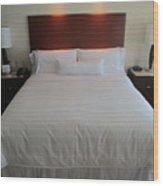 Bed Wood Print