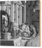 Bedcheck Wood Print