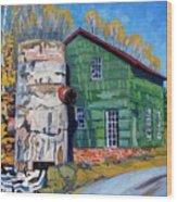 Bedford Mills Wood Print
