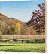 Bedford, Pa Fall Landscape Wood Print