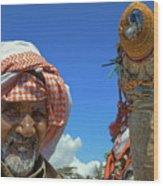 Bedouin Wood Print by George Paris