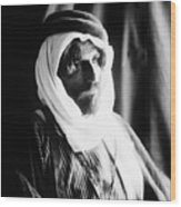 Bedouin Man, C1910 Wood Print
