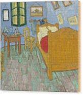 Bedroom At Arles Wood Print