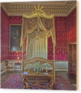 Bedroom At Holkham Hall Wood Print