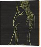 Bedside Wood Print
