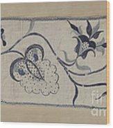 Bedspread Wood Print