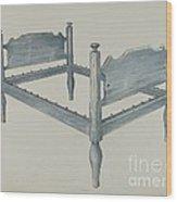 Bedstead Wood Print
