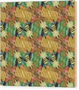 Bee Kind  Morph#2 Wood Print