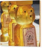 Bee My Honey Wood Print
