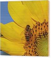 Bee My Sunshine Wood Print