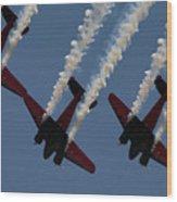 Beechcraft C-45 Expeditor V2 Wood Print