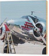 Beechcraft C-45h Wood Print