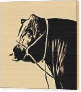 Beef Poster Wood Print