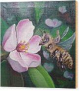 Beekeeper Wood Print