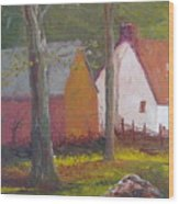 Beekeeper's Cottage Wood Print