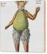 Beelzebub, Or The Devil, 1775 Wood Print