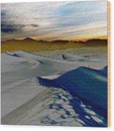 Been Through The Desert Wood Print