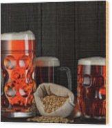 Beer Wood Print