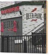 Beer Park Wood Print