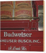 Beer Wagon Wood Print