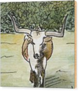 Beevo1 Wood Print
