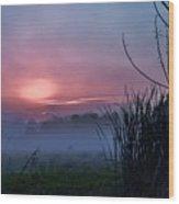 Before Dawn Wood Print