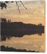 Before Daybreak Wood Print