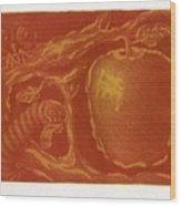 before Eve Wood Print