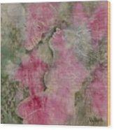 Before The Kiss Wood Print