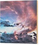 Before The Storm Avila Bay Wood Print