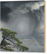 Before Thunderstorm Wood Print