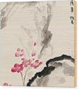 Begonia Flowers Wood Print