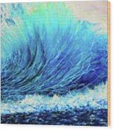 Behemoth Wave Wood Print
