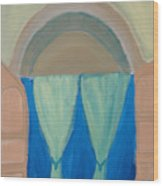 Behind Scene Wood Print by Madhurima Bidkar