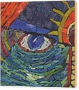 Behold - Fantasy Face No. 1 Wood Print