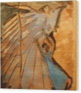 Behold - Tile Wood Print