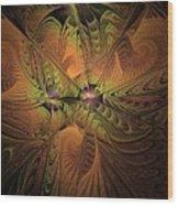 Behold A Universe - Fractal Art Wood Print