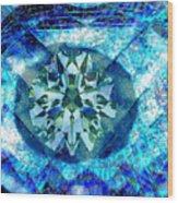 Behold The Jeweled Eye Wood Print