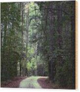 Beidler Forest Wood Print