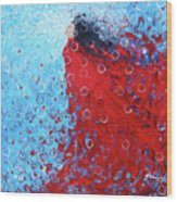 Being A Woman 6 - In Water Wood Print