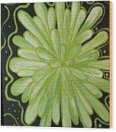 Being Green Wood Print