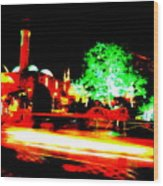 Beirut By Night Wood Print