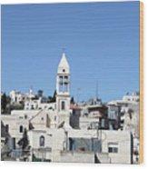 Beit Jala Christian Town Wood Print