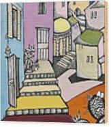 Beit She'an Wood Print